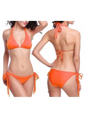 Sexig Solid färg Bikini