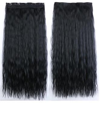 Onda de agua Pelo sintético Extensiones de cabello con clip (Vendido en una sola pieza) 100g