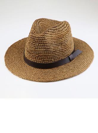 Menn Vakkert/Mote/Elegant/Enkel Raffia Strå Panama Hat