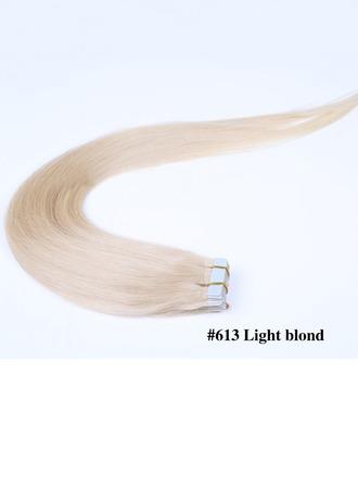 5A Jungfrau / Remy Gerade Menschliches Haar Tape in Haarverlängerungen (Einzelstück verkauft) 40g