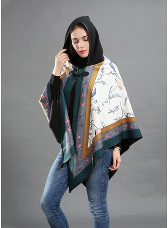Oversized/Cold weather Artificial Wool Poncho