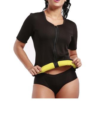 Mulheres Clássico/Esportes/suor Poliéster Respirabilidade Maiô/Tanques E Camis/Esportes Cintas