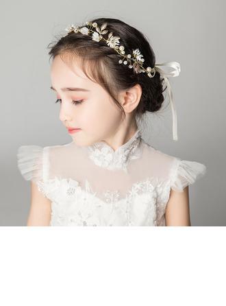 Alliage/Cristal avec Une fleur Bandeaux (Vendu dans une seule pièce)