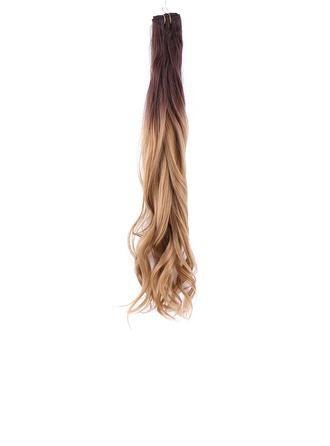 Vesi-aalto Synteettiset hiukset Weaving aidoista hiuksista (Myydään yhtenä kappaleena) 100g