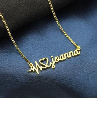 Individualisiert Unisex heißeste Vergoldet Name Halsketten Ihr/Freunde/Braut