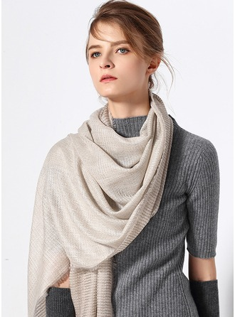Solid Color Oversized/simple/Cold weather Cashmere Scarf