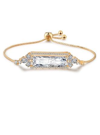 Ladies' Shining Alloy/Zircon Bracelets For Bride/For Bridesmaid