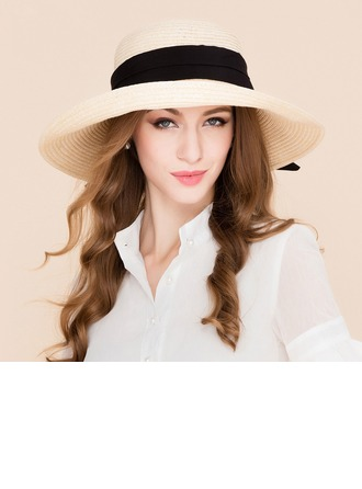 Dames Mode Rotan Straw Strohoed/Strand / Zon Hoeden/Kentucky Derby Hats
