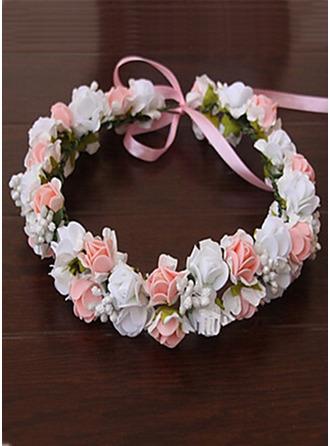Pe med Blomst Flower Headband