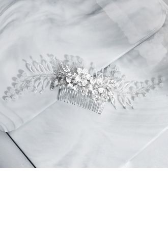 Bayan El yapımı Alaşım Combs ve Tokalarım Ile Yapay elmas/Venedik İnci/İmitasyon Kristal