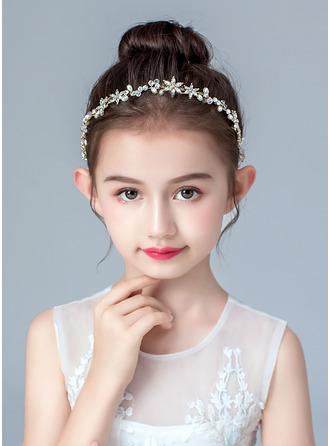 Slitina/Faux Pearl/Krystal Čelenky