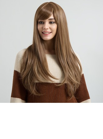 Kinky Straight Synthetic Hair Synthetic Wigs 250g