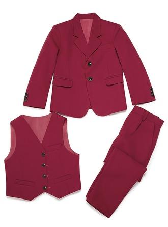 Ragazzi 3 pezzi Solido Abiti per Paggetti /Page Boy Suits con Giacca ovest Pantaloni