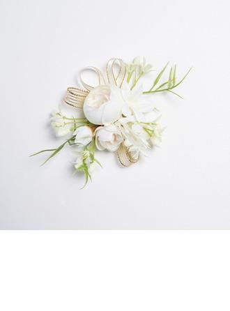 Charmia Vapaamuotoinen Kangas Ranne kukkakimppu (myydään yhtenä kappaleena) -