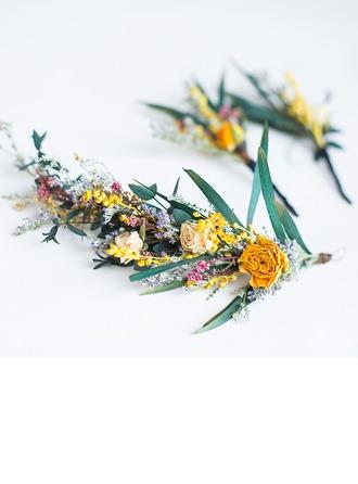 Bayan Özel Ipek Çiçek Combs ve Tokalarım