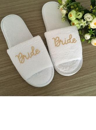 Bride Gaver - fløyel klut tøfler