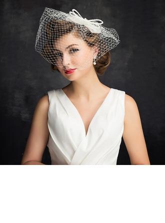 Señoras' Encanto La perla de faux/Tul con La perla de faux/Bowknot/Tul Tocados/Derby Kentucky Sombreros/Sombreros Tea Party