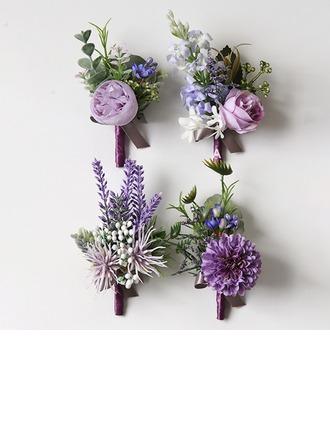 Fascynujący Dowolna forma Material Zestawy kwiatowe - Nadgarstek stanik/Tuxedo