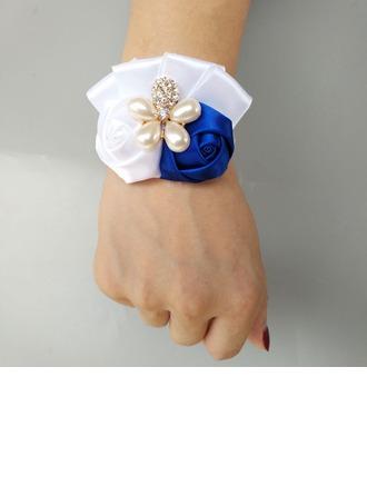 Satiné Corsage du poignet (vendu en une seule pièce) -