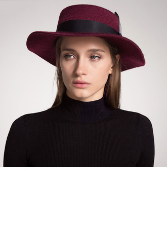 Bayanlar Güzel/Klasik/Şık Yün Disket Şapka