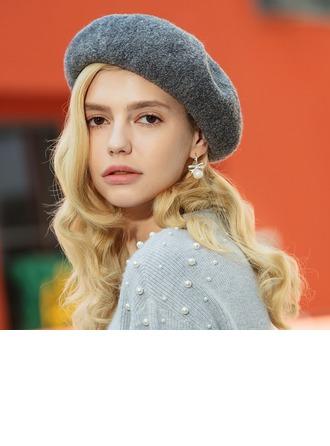 женские Мода/Элегантные/простой шерсть. Шляпа Берет