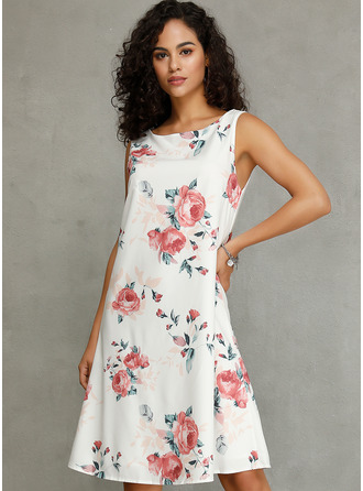 Guler Rotund Polyester Moda Elbiseler