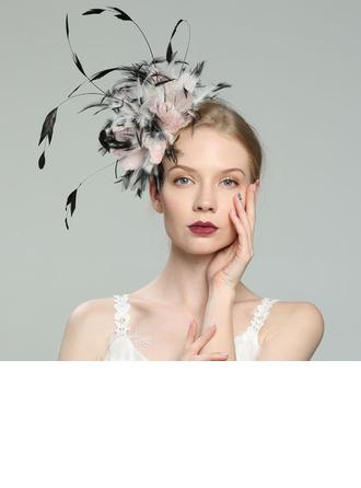Dames Glamour/Élégante/Fantaisie Feather avec Feather Chapeaux de type fascinator/Kentucky Derby Des Chapeaux