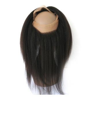 25a90c610123 360 Frontal 4A Rovný Lidský vlas Uzavření (Prodáno v jediném kusu)