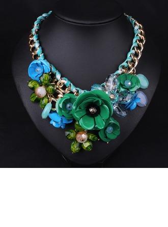 Mode Legierung Harz Damen Mode-Halskette