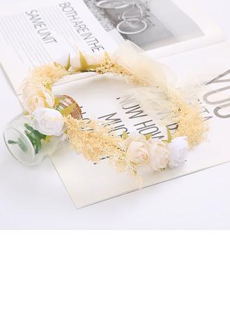 Красивая шелковые цветы/моделирование ротанг ободки
