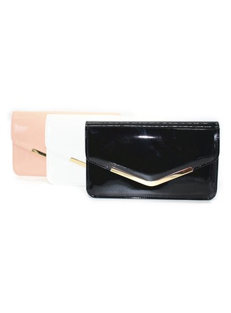Fashional Patent Leather Clutches