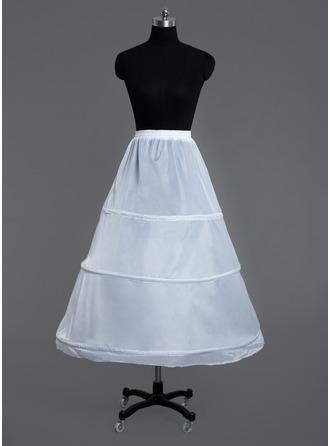 Women Polyester Floor-length 1 Tiers Petticoats