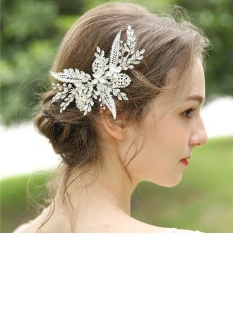 Dames Mooi Strass/Legering Haarspelden met Strass (Verkocht in één stuk)