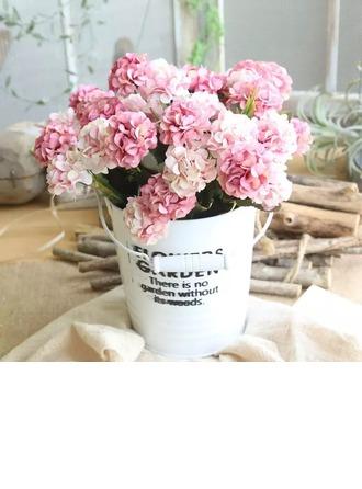 красочные Свободной формы шелковые цветы Декорации/Свадебный Таблица цветов -