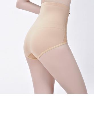 Kvinder Sexet Chinlon/Nylon Høj Talje Underbukser Body Shaper Trusser