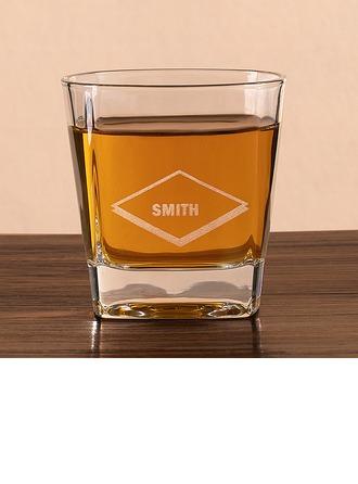 Groomsmen Gaver - Personlig Elegant Glass Whisky Glass