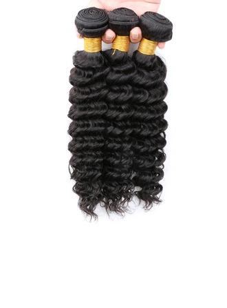 5A Tief Menschliches Haar Geflecht aus Menschenhaar