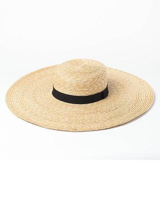 Senhoras Feito à mão/Mais quente Rattan de palha Chapéu de palha/Kentucky Derby Bonés