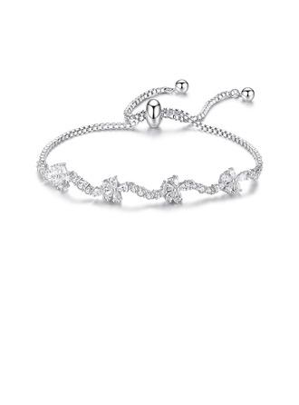 Empfindliche Kette Brautarmbänder Brautjungfer Armbänder Bolo-Armbänder - Valentinsgruß-Geschenke Für Sie