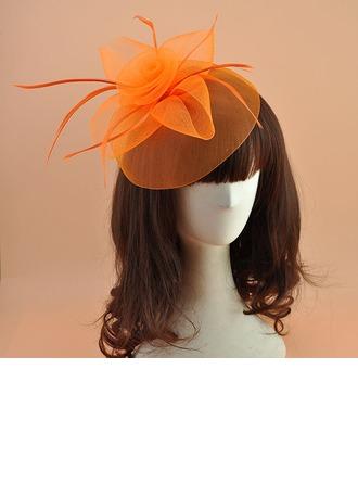 Ladies ' Elegantní Polyester S Pírko Fascinators/Čajové klobouky