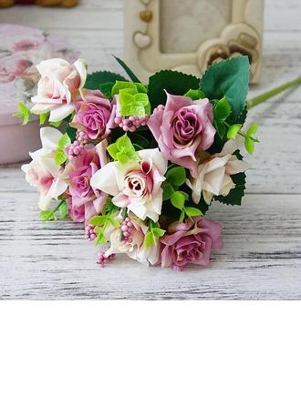 Ницца Свободной формы шелковые цветы Декорации/Свадебный Таблица цветов -