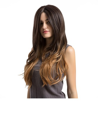 Body Wavy Synthetic Hair Capless Wigs 370g