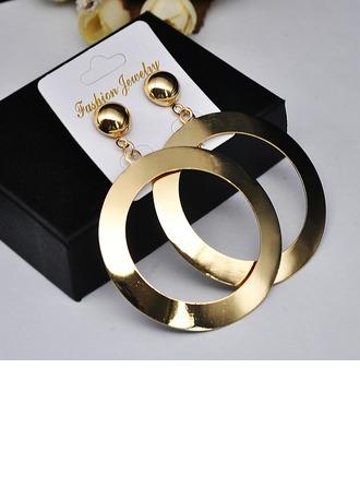 Beautiful Iron Women's Fashion Earrings (Set of 2)
