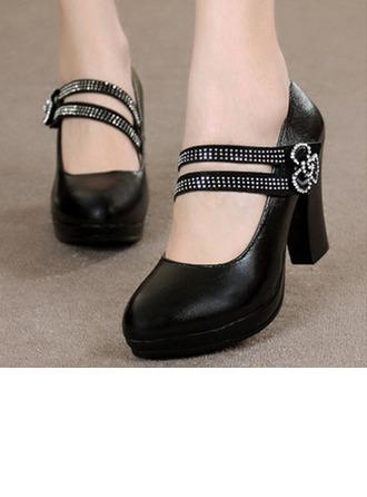 De mujer Salón Sala de Baile con Tira de tobillo Zapatos de danza