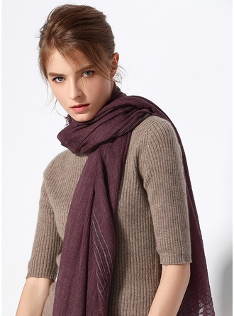 Solid Color Light Weight/simple Wool Scarf