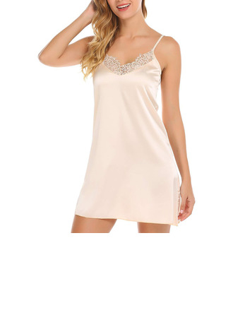 Klassisk stil Elastan Nattkläder/Brudunderkläder/Slips