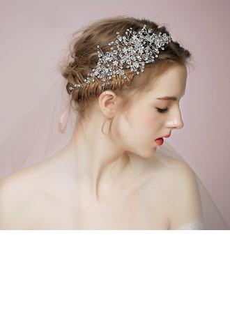 Damer Vackra Och Kristall Pannband med Kristall