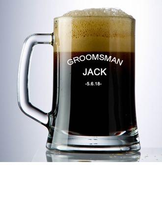 Groomsmen Geschenken - Persoonlijke Klassiek Glas Bierglas