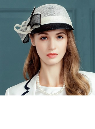 Ladies' Fashion Cambric With Bowknot Bowler/Cloche Hat