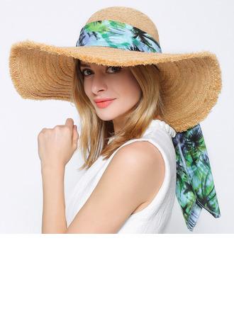 Ladies' Simple/Fancy Raffia Straw Hats/Beach/Sun Hats